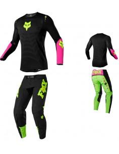 Combo pant and jersey Fox 2020 Flexair Limited Venin Black 24440-001-24441-001 Fox Combo Jersey & Pant Motocross/Enduro