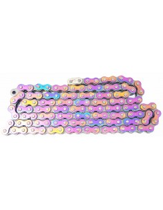 Chain motocross-enduro-motard holographic VictoryMX 420-130 links CAT420HOLO WDracing-Victory Chains
