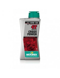 Engine Oil Motorex Cross power 4T SAE 10w50 308241 Motorex Motocross Engine Oil