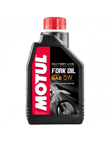 Olio Forcelle Motul Factory line light 5 w 105924