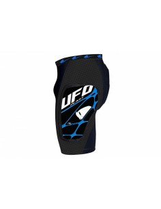 Youth shorts with protections Ufo Atrax PI04443-K Ufo Kids Motocross Protection