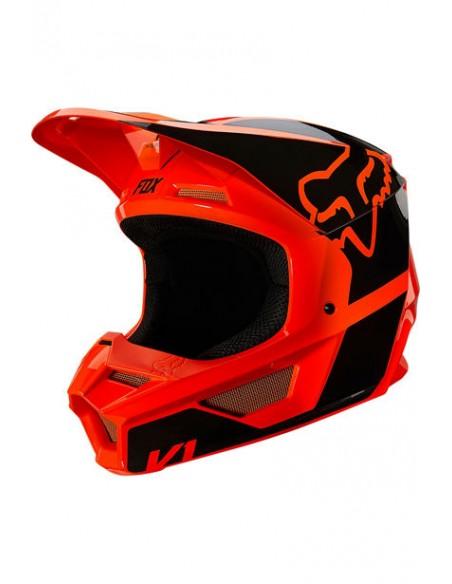 Helmet FOX Youth V1 Revn Fluo Orange 25876-824 Fox Kids Motocross Helmets