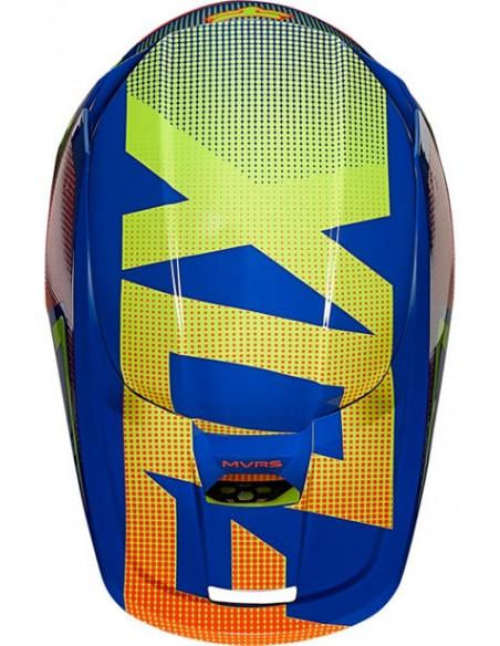 Helmet FOX Youth V1 Oktiv Blue 25878-002 Fox Kids Motocross Helmets