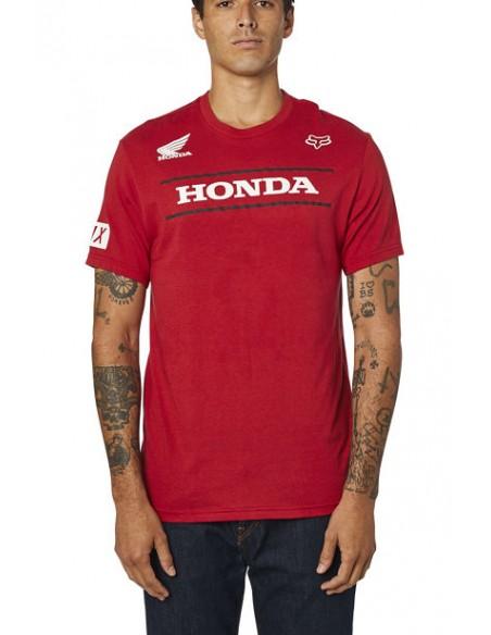 T-shirt FOX Honda SS Tee Red 26017-555 Fox T-Shirt & Tank