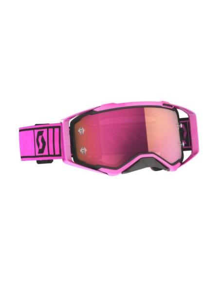 Maschera occhiale Scott Prospect Pink/Black con lente Rosa a specchio 2728211665340