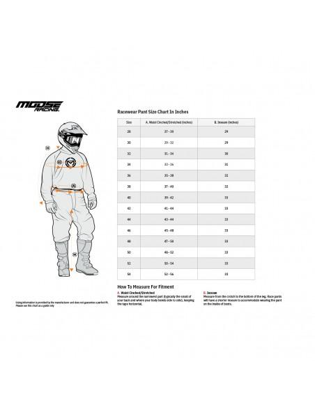 Pant Moose Racing M1 Black/Grey 2901729 Moose Racing Motocross jersey and pants