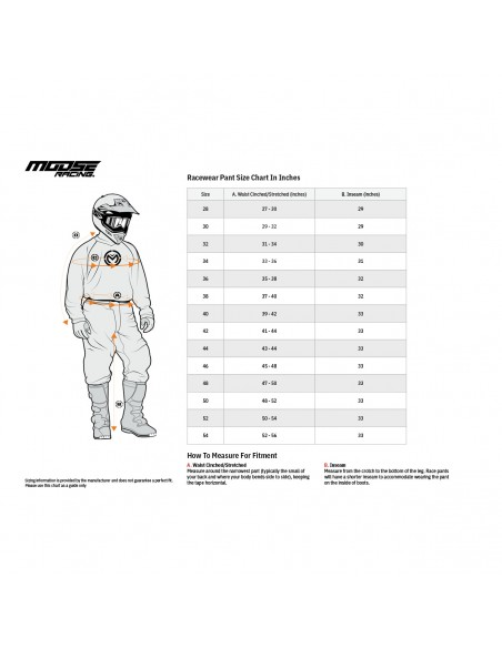 Pantalone Moose Racing M1 Nero/Giallo Fluo 2901732
