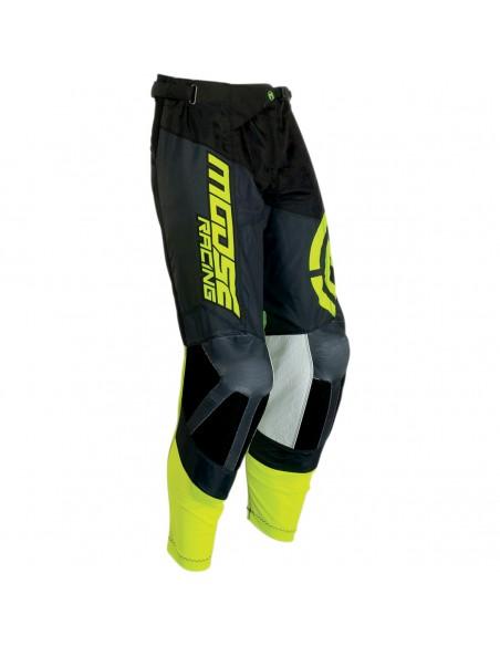 Pant Moose Racing M1 Black/Fluo Yellow 2901732 Moose Racing Motocross jersey and pants