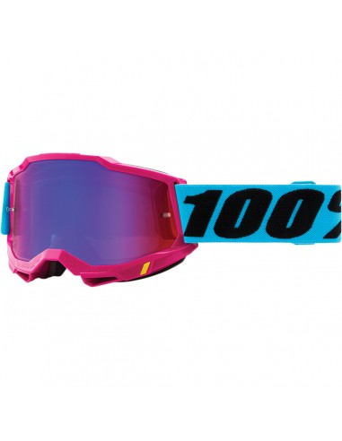 Occhiali Maschera 100% Accuri 2 LEFLEUR Mirror R/B 26012827
