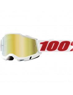 Goggle 100% Accuri 2 Denver Mirror Gold 26012825 100% Goggles