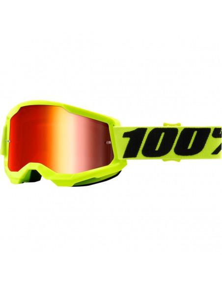 Occhiali Maschera 100% Strata 2 Yellow 2601292