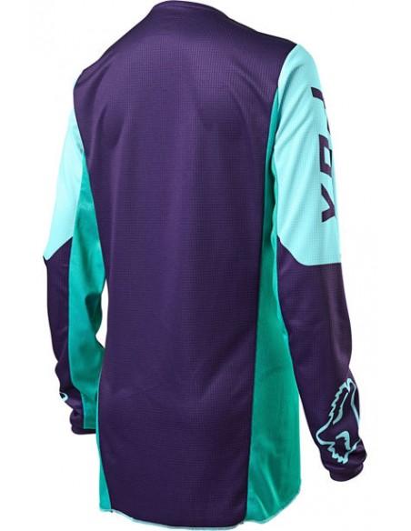Combo pant and jersey Fox 2020 180 Voke Youth Girls Aqua 25866-246-25867-246 Fox Kids Clothing Motocross Gear