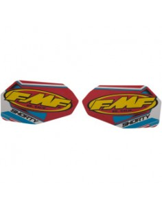 FMF DECAL LOGO POWERCORE SHORTY PATRIOTIC VINYL 43202203-014845 Fmf Parts & Accessories
