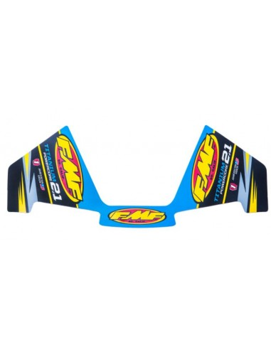 FMF DECAL REPLACEMENT Powercore 2.1 Ti 014827 Fmf Stickers