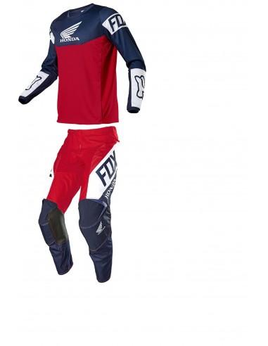 Combo pant and jersey Fox 2021 180 Honda 25770-248+25771-248 Fox Combo Jersey & Pant Motocross/Enduro