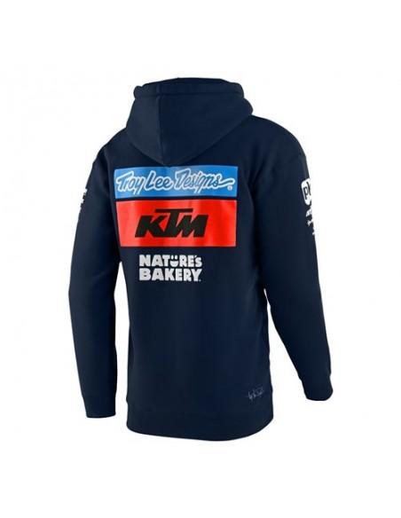 TLD Troy Lee Desing KTM Team Pullover Navy 2021 73185600 Troy lee Designs hoodies-sweaters-Jacket