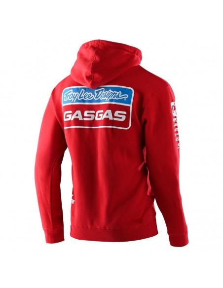 TLD GasGas Team Pullover Hoodie Red 73131800 Troy lee Designs hoodies-sweaters-Jacket