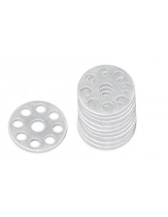 Aluminium Works Washers 25mm 10 Pcs. 2009-AWW.25 Bolt Kits-visserie