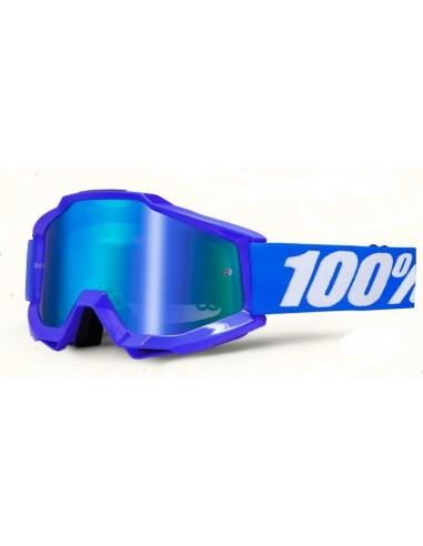 Occhiale I Maschera 100% Accuri Reflex Blue  100%Occhiali-Maschere cross-enduro