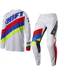 Completo Shift MX 2017 White 3 tarmac white