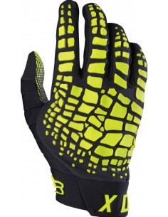 Gloves Fox Grav black-yellow