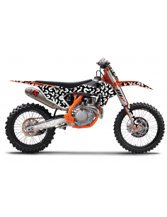 Graphics Kit KTM Customized WDGPersKtm KTM