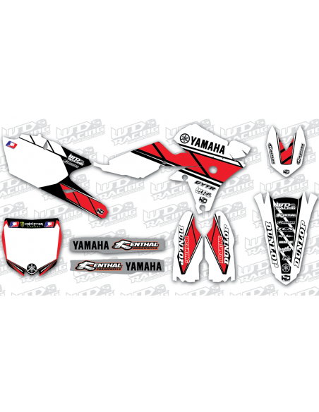 Graphics Kit Yamaha RETRO' WDDyamretr YAMAHA