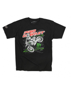 Tee Monster Pro Circuit Sideways Black