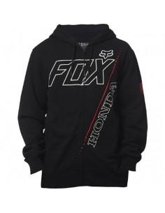 Honda zip Fleece nera