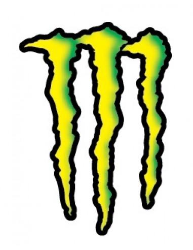 Decal Logo Monster 3 pz