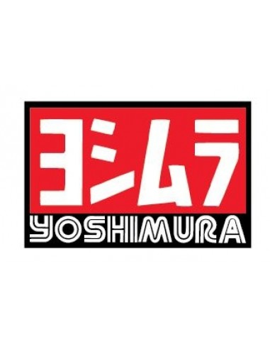 Decal logo Yoshimura 3 pz