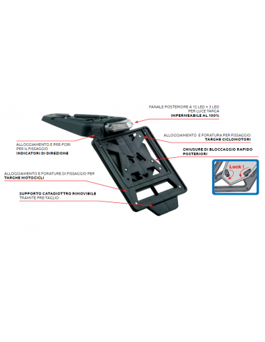 Taillight Integra R-Tech 681 Racetech Phare