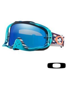 Occhiale I maschera Oakley Crowbar TLD Code RWB con lente Ice Iridium