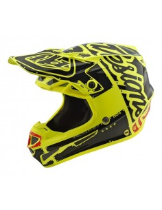 Casco TLD Troy Lee Designs SE4 Polyacrylite Mono Black
