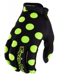 Gloves TLD Troy Lee Designs GP Air Dot Black/Fluo Yellow 2018
