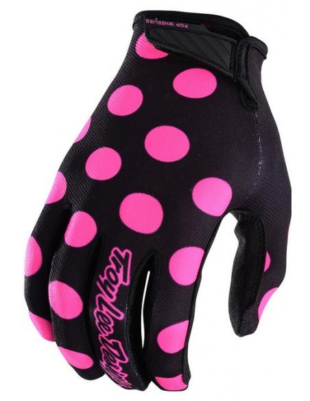 Gloves TLD Troy Lee Designs GP Air Dot Black-Pink 2018 3368 Troy lee Designs Gloves