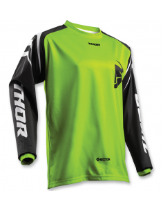 Jersey Thor Sector Lime 3433 Thor Motocross jersey and pants