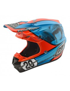 Casco TLD Troy Lee Designs 2017 SE4 Composito TEAM NAVY
