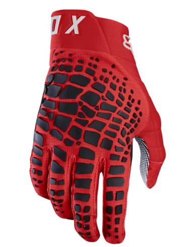 Gloves Fox Grav Red 3476 Fox Gloves