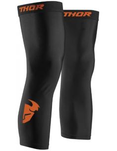 Calza sottoginocchiera Nera-Arancione Thor 3494