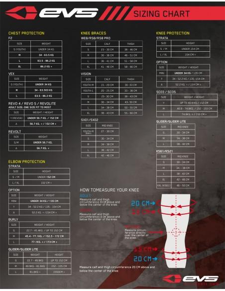 Sottoginocchiera EVS 527 Evs Socken-Kneebrace socks-Unterziehstrumpf