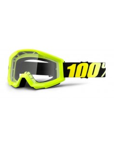 Occhiale I Maschera 100% Junior Neon Yellow - Lente Clear