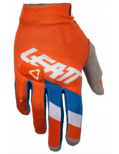Guanti Leatt GPX 3.5 Lite Orange/Denim