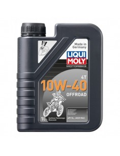 ENGINE OIL MOTORBIKE 4T 10W-40 SYNTHETIC TECHNOLOGY 1 LITER 36010464 Liqui Moly Motocross Engine Oil