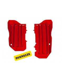 Oversized raditor covers Racetech CRF 250 018-019 GRIGLIERADCRF250-18 Racetech Radiators
