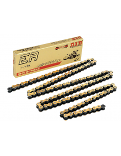 D.I.D 420 NZ3 Super Non O-Ring Chain - 130 links 401235130 Did Chaînes