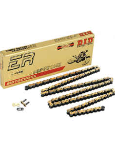 DID CHAIN 428 NZ NON-O'RING CHAIN - GOLD- 140 links 401248130 Did Chaînes