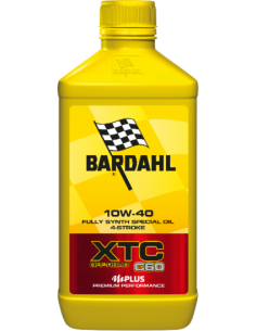 Engine Oil Bardahl XTC C60 OFF ROAD 10W40 351140 Bardahl  Motocross Engine Oil