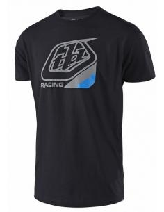 T-Shirt Troy Lee Design Precision Black/Blue TSHIRTTLDPRECISIONBB