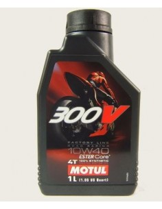 MOTUL 300V Factory Line 10W40 104118 Motul   Motocross Engine Oil